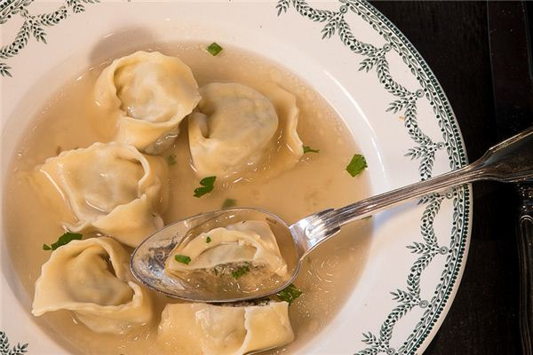 The meaning and symbol of Wonton Soup in dream