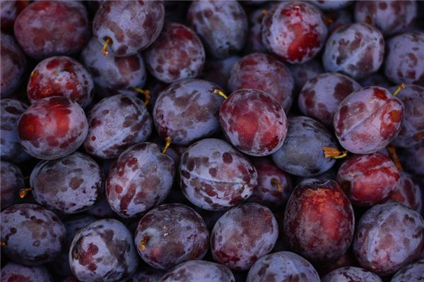 The meaning and symbol of Wash plums in dream