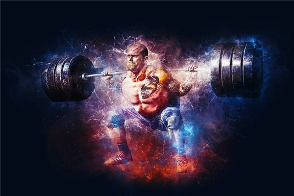 What does weightlifting mean and symbolize in dreams?