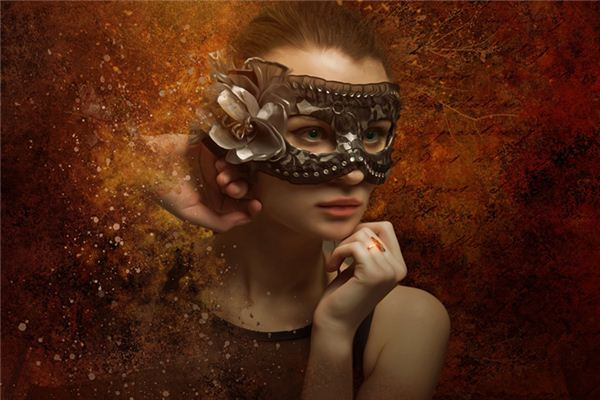 What is the meaning and symbol of the masquerade in the dream?